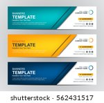 abstract web banner design... | Shutterstock .eps vector #562431517