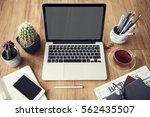 computer network connection... | Shutterstock . vector #562435507