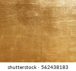 shiny yellow leaf gold foil... | Shutterstock . vector #562438183
