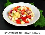 gluten free salad with potatoes ...