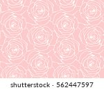 seamless floral pattern with... | Shutterstock .eps vector #562447597