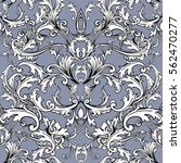 baroque seamless pattern... | Shutterstock .eps vector #562470277