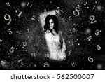 numerology  magic of numbers | Shutterstock . vector #562500007