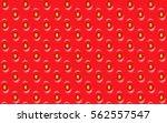 strawberry | Shutterstock .eps vector #562557547