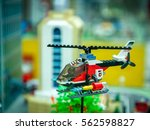 Toy Helicopter. Lego Blocks....