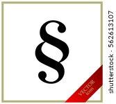 paragraph  vector icon | Shutterstock .eps vector #562613107