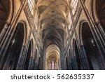 prague  czech republic  ... | Shutterstock . vector #562635337