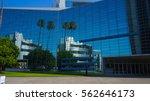 mirror building  anaheim ...   Shutterstock . vector #562646173