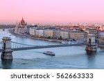 picturesque dusk scenery of...   Shutterstock . vector #562663333