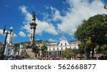quito  pichincha   ecuador  ...   Shutterstock . vector #562668877