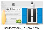 elements of architecture  ... | Shutterstock .eps vector #562677247