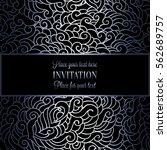 abstract background with luxury ... | Shutterstock .eps vector #562689757