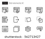 gui elements for applications...
