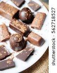 Various Chocolates As A...