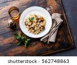 Risotto With Porcini Mushroom...