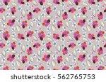 multicolor pattern for summer... | Shutterstock . vector #562765753