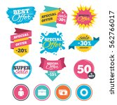 sale banners  online web... | Shutterstock .eps vector #562766017