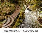 water creek in papayacta ... | Shutterstock . vector #562792753