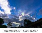 rainbow sky | Shutterstock . vector #562846507