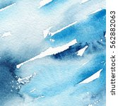 abstract watercolor painting.... | Shutterstock . vector #562882063