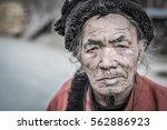 ziro  arunachal pradesh   circa ... | Shutterstock . vector #562886923