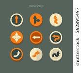 icon arrows vector