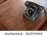 black antique vintage analog...   Shutterstock . vector #562914043
