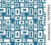 seamless raster geometrical...   Shutterstock . vector #562985863