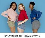 studio people shoot portrait... | Shutterstock . vector #562989943