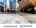 square front of modern office... | Shutterstock . vector #562994143