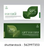 gift voucher template for spa ... | Shutterstock .eps vector #562997353