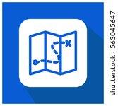 map vector icon   Shutterstock .eps vector #563045647