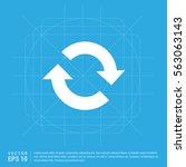 reload icon | Shutterstock .eps vector #563063143