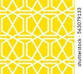 modern stylish geometric... | Shutterstock .eps vector #563079133