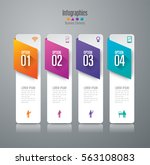 infographic design vector and... | Shutterstock .eps vector #563108083