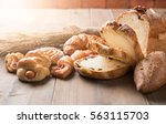 Assortment Of Baked Bread And...