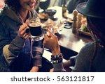 craft beer booze brew alcohol... | Shutterstock . vector #563121817