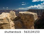 grand canyon national park ... | Shutterstock . vector #563134153