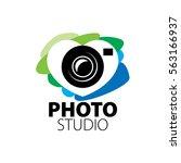 logo for photo studio | Shutterstock .eps vector #563166937