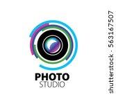 logo for photo studio | Shutterstock .eps vector #563167507
