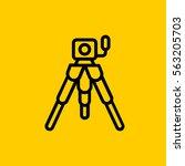 photo camera icon. isolated...