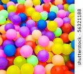 Color Balls. Bright Colors...