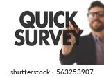 quick survey | Shutterstock . vector #563253907
