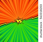 comic book versus background ... | Shutterstock .eps vector #563318203