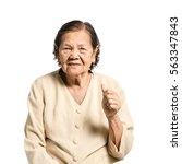 Portrait Of A Senior Woman ...