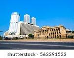 colombo skyline  sri lanka   Shutterstock . vector #563391523