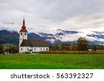 Typical Slovenian Church In Th...
