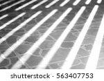 gray floor with shadow texture | Shutterstock . vector #563407753