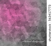 abstract of blurred texture... | Shutterstock .eps vector #563417773