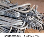 photo division anchor bolts are ... | Shutterstock . vector #563423743